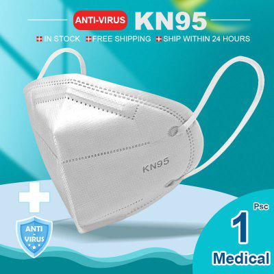 KN95 N95 Respirator Face Mask Surgical Adjustable Dust Full Face Mask Medical Health Care Facepiece