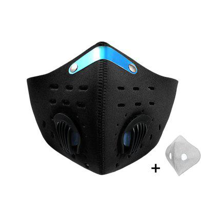 Sport Face Mask Activated Carbon Filter Dust PM 2.5 Anti-Pollution Running Training MTB Road Bike Cycling Nonmedical