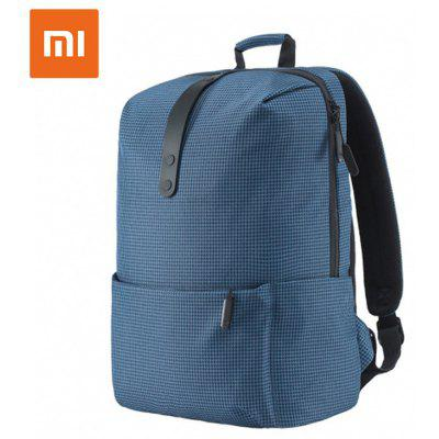 Xiaomi Fashion School Backpack Bag 600D Polyester Durable Bags Suit for 15.6 Inch Laptop Computer