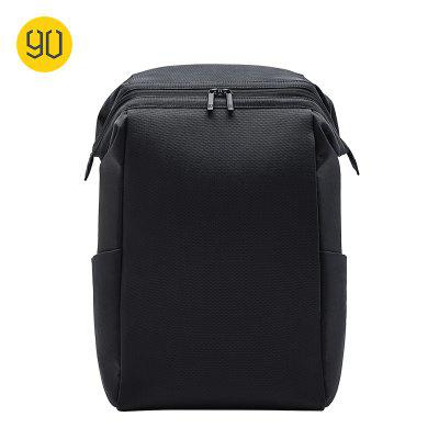 Xiaomi 90FUN Black Business Backpacks Simple And Light Laptop Bag Anti-theft Zipper Travel Backpack