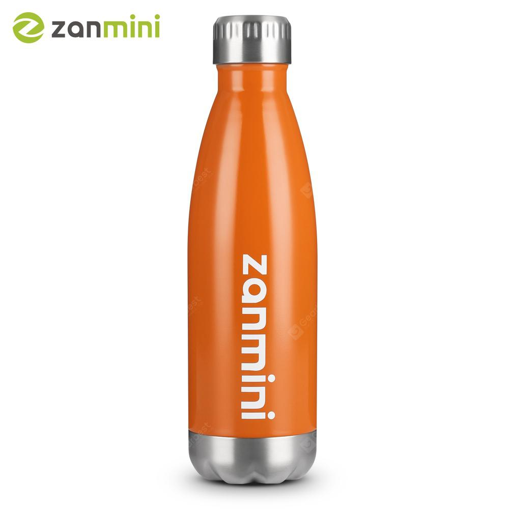 304 Stainless Steel 500ML Drink Vacuum Insulated Summer Sports Water Bottle  ~