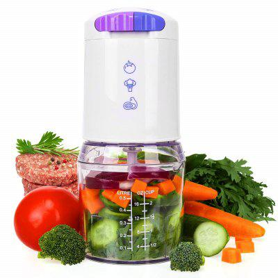 Mini Food Chopper 16 Ounce Processor with BPA-Free Bowl Perfect