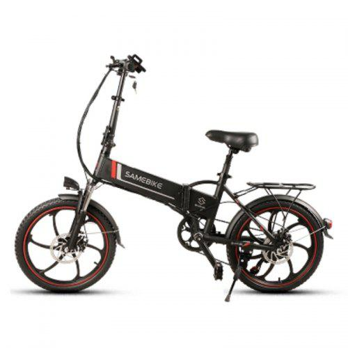 SAMEBIKE 20LVXD30 350W Motor 48V 8AH Battery Foldable Electric Bicycle LCD Display Electric Bicycle
