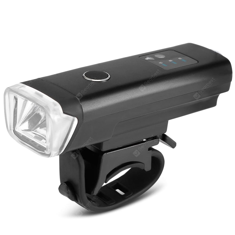 Mount 3 Modes 240LM USB Rechargeable Bike Bicycle Front LED Head Lights Torch