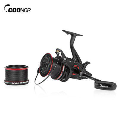 COONOR NFR9000 8000 Double Spool Full Metal Fishing Reel Folding Left Right Handle Fishing Reel