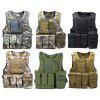 Outlife Tactical Vest Military Swat Field Battle Airsoft Molle Combat Assault Plate Carrier Vest
