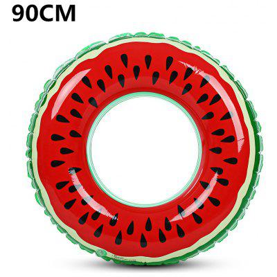 Outlife Watermelon Inflatable Kids Swimming Ring Inflatable Pool Float Circle for Adult Children