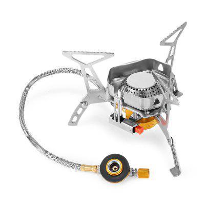Outdoor Camping Folding Windproof Split Stove Portable Gas Burner