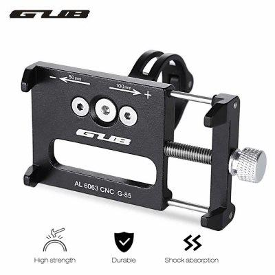 GUB G 85 Aluminum Alloy Bicycle Handlebar Bike Phone Mount Cycling Holder Stand for Mobile Cellphone