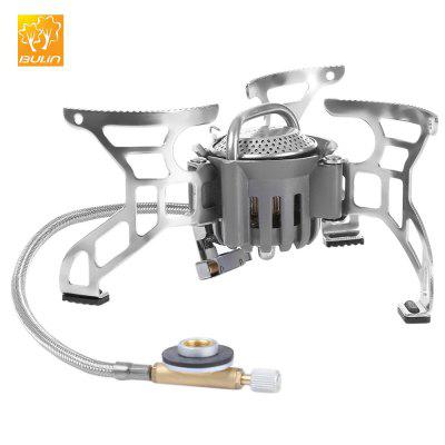 BULIN BL100 - T4 - A Outdoor Stove Camping Hiking Picnic Foldable Split Gas Stove Portable BBQ Gear