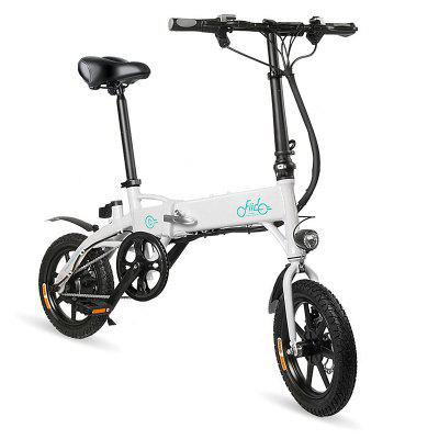 FIIDO D1 Folding Electric Bike EU 10.4Ah  14 x 2.125 inch  Tire size