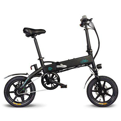 FIIDO D1 Folding Electric Bike EU 10.4Ah  14 x 2.125 inch  Tire size Image