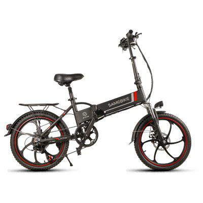 Samebike 20 inch 20LVXD30 Aluminum Alloy Foldable Electric Bicycle 48V 8Ah Intelligent LCD Image