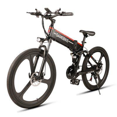 SAMEBIKE LO26 350W Motor Folding Electric Bike 48V...