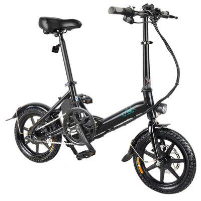 FIIDO D3 Electric power folding bicycle 14 inches Image