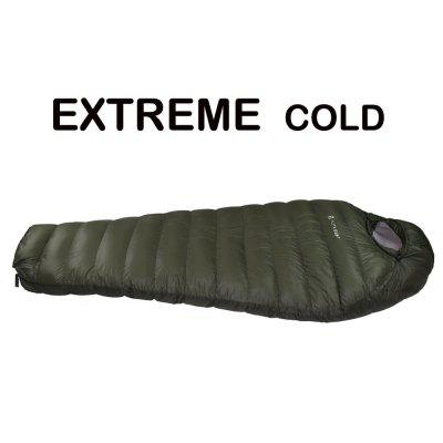 Portable Winter Thickened Long Down Sleeping Bag Mummy Adult Dampproof Warm Sleeping Bag