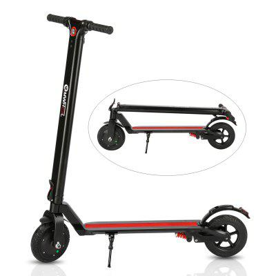 USB Charger 3 Speed Adjustable 8 inch Dual 350w High Power Motors Lightweight Folding E-Scooter