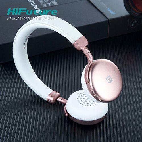 HiFuture Turbo2 Colorful On Ear type headphone with remote control button IOS or Android devices