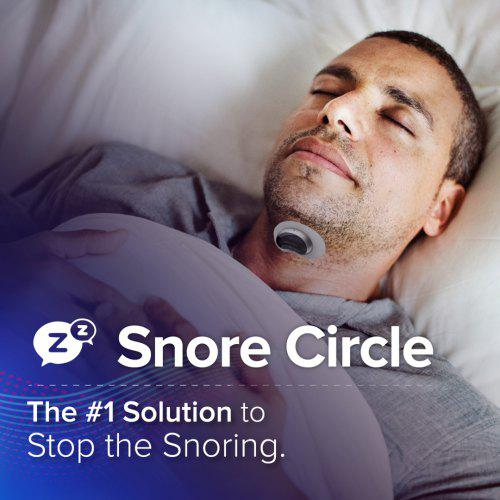 Snore Circle Smart Anti Snoring Device Muscle Stimulator Snore Stopper