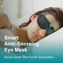 Snore Circle Smart Anti Snoring Device Eye Mask Snore Stopper