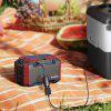 SUAOKI S270 150Wh Portable Power Station with AC Outlets 4 DC Ports 4 USB Ports and LED Flashlights