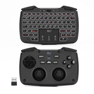 Rii RK707 Mini Wireless Game Controller Mouse Keyboard Combo