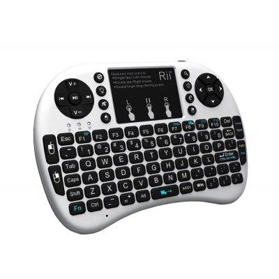 Rii i8plus Mini Wireless Keyboard Air Mouse with  for Android TV Box