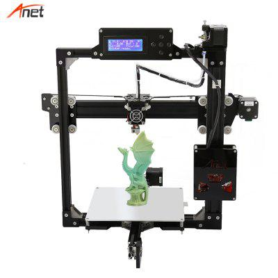 Anet A2 Metal Frame Easy Assembly 3d Printer LCD Size Optional DIY 3D Printer Kit Impressora 3d