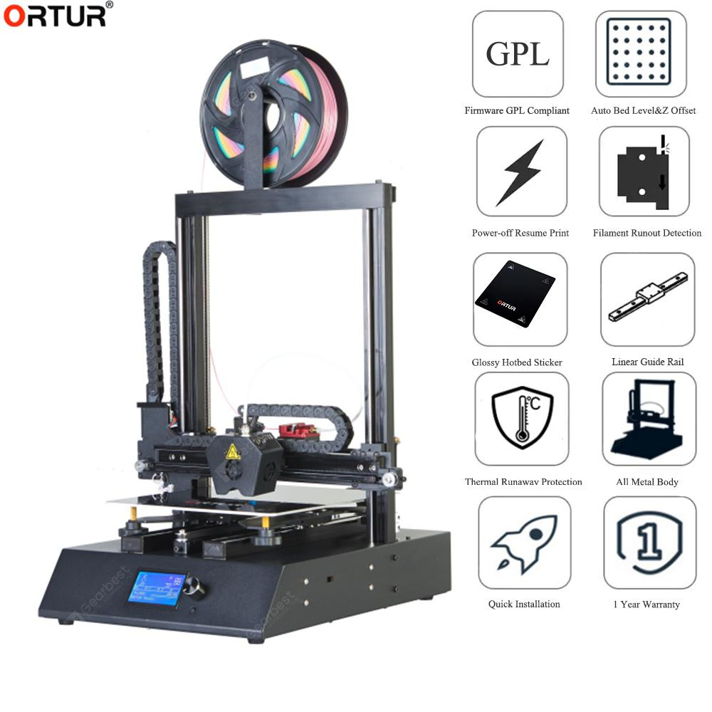 Ortur4 V2 V1 Linear Guide Rail High Speed High Accuracy Solid Heavy Duty Business 3D Printer Machine - Ortur4 V2 10M PLA Czech Republic - 390.71€