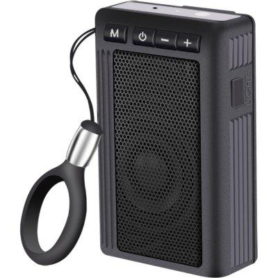 SOSNSKY GT01 Multifunctional Outdoor Bluetooth 4.2 speaker with back clip_flashlight function