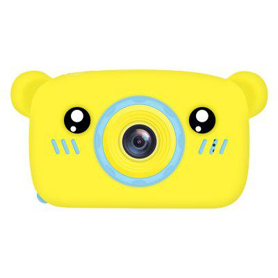 X9S HD 1080P  Bear Style  Portable Children Sports Camera-yellow Christmas gifts