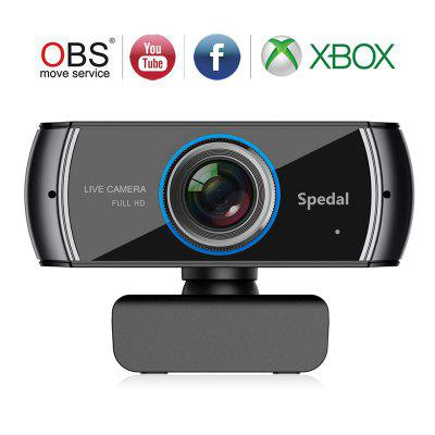 Spedal 920 Full HD Webcam  Live Streaming Computer Laptop Camera for OBS X-Box XSplit Skype Facebook