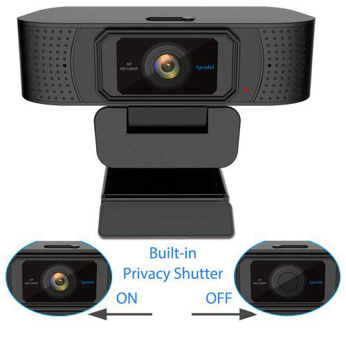 Spedal S928 Webcam Privacy Shutter 1080P Full HD Cámara USB para OBS - Cámara y foto