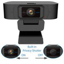 Spedal S928 Webcam Privacy Shutter 1080P Full HD Cámara USB para OBS X-Box XSplit Skype Facebook