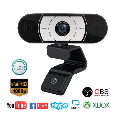 Spedal 931 Pro Stream  Webcam 1080P Auto Focus Game Streaming  for OBS X-box XSplit Skype Facebook