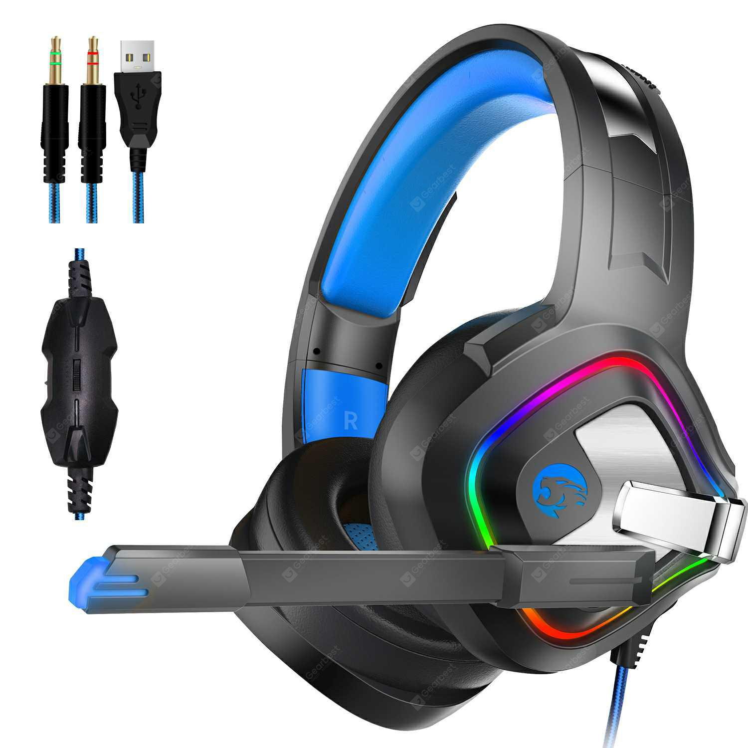 SOSNSKY A66 Headband Gaming Headsets with Microphone for X-BOX 360 PS3 PS4  Game Console