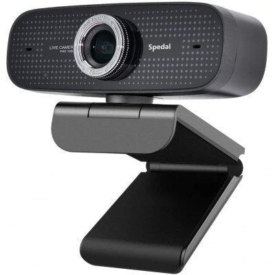Spedal 922 HD Webcam 1080P Streaming Web Camera with Microphone for Desktop/Laptop PC Webcam Compatible with OBS/Zoom/YouTube/Skype  for Windows/Mac