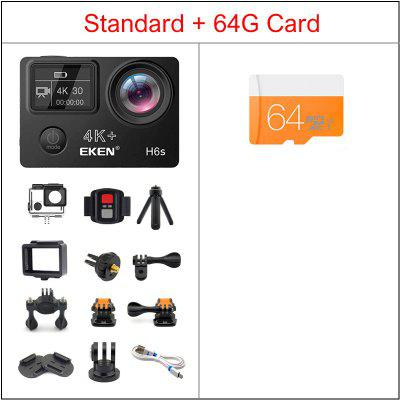 EKEN H6S Ultra HD 4K Action Camera with Ambarella A12 chip 30M waterproof sport Cam Image