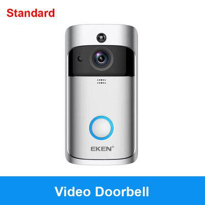Campanello EKEN V5 Silver Video campanello Smart Wireless WiFi campanello di sicurezza
