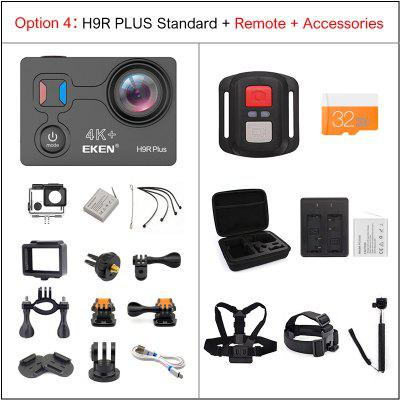 EKEN H9R Plus Action Camera Ultra HD 4K A12 waterproof wifi sport Cam Image