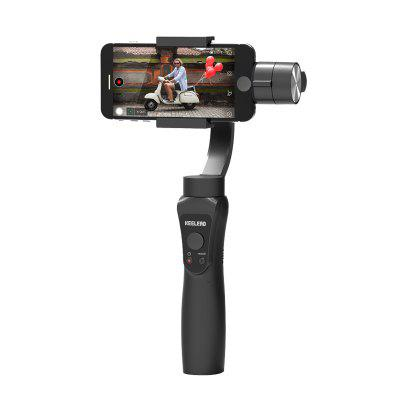 KEELEAD S5 3-Axis Handheld Gimbal Stabilizer with Focus Pull Zoom for smartphone Action Camera