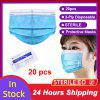 3 Layer Non-woven Thickened Disposable Virus Protective Mask Surgical Face Mask Facial Safety Masks