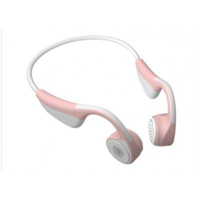 V9 Bluetooth  Headphones 5.0 Bone Conduction Wireless Sports Earphones - white