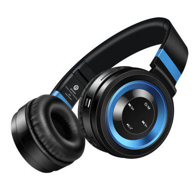 P6 Bluetooth Headphones Wireless Headphone with Mic Support TF Card Headset For phone computer