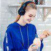 Tourya Wireless Headphones Bluetooth Headset Foldable Headphone Earphones With Mic For PC phone