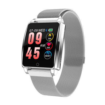 Tourya R17 Smart Watch Android IOS Bracelet Tempered Glass Color Screen Waterproof Sport Band