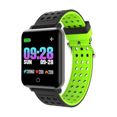 Tourya M19 Smart Bracelet Men Women Watch Fitness Tracker Waterproof Activity Sports Color Band