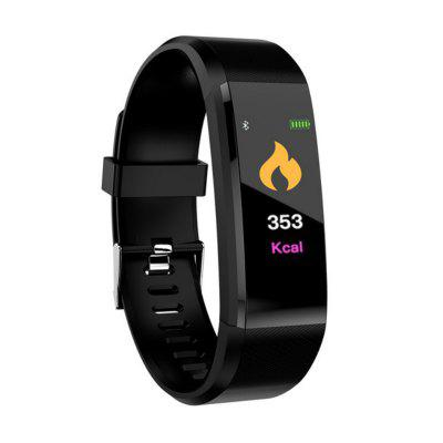 Tourya 115P Smart Bracelet Watch Heart Rate Blood Pressure Color Screen Android IOS Sports Band