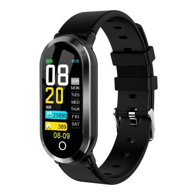 Tourya T1 Smart Bracelet Heart Rate Band Fitness Tracker Watch Android IOS Color Screen Sport Band