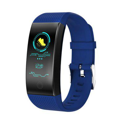 Smart Band QW18 Fitness Tracker Heart Rate Smart Bracelet Watch Color Screen Waterproof Sports Band